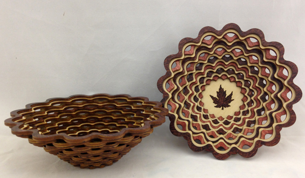 Large Doily Baskets